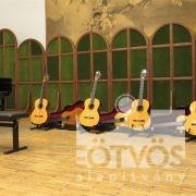A gitárok